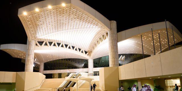 Flygplatsen i Riyad.  Henrik Montgomery/TT / TT NYHETSBYRÅN