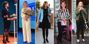 Anna Kinberg Batra, Ebba Busch Thor, Birgitta Ohlsson, Gudrun Schyman och Annie Lööf. TT