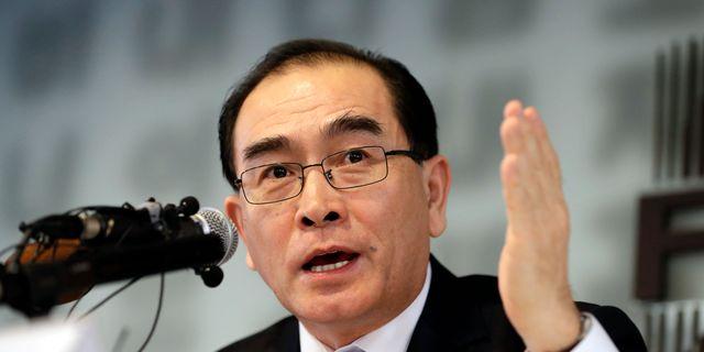 Thae Yong Lee Jin-man / TT NYHETSBYRÅN