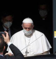 Påve Franciskus. Alessandra Tarantino / TT NYHETSBYRÅN