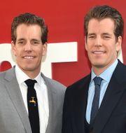 Tvillingarna Cameron och Tyler Winklevoss. Arkivbild. Evan Agostini / TT NYHETSBYRÅN