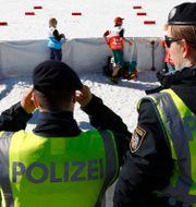 Polis under VM i Seefeld. Matthias Schrader / TT NYHETSBYRÅN/ NTB Scanpix