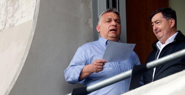 Ungerns premiärminister Viktor Orbán.  Laszlo Balogh / TT NYHETSBYRÅN/ NTB Scanpix
