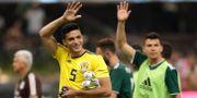 Mexikos Raul Jimenez efter matchen. HENRY ROMERO / TT NYHETSBYRÅN