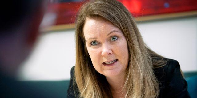 Landsbygdsminister Jennie Nilsson (S)- Claudio Bresciani/TT