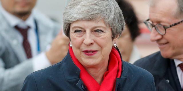 Theresa May. Arkivbild. Jorge Silva / TT NYHETSBYRÅN