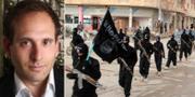 Mark Klamberg/IS-terrorister år 2014. Stockholms universitet/TT