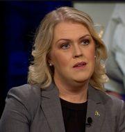 Lena Hallengren.  SVT