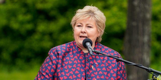 Norges statsminister Erna Solberg. Lise Åserud / TT NYHETSBYRÅN