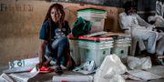 En valarbetare i Yola, Nigeria. LUIS TATO / AFP