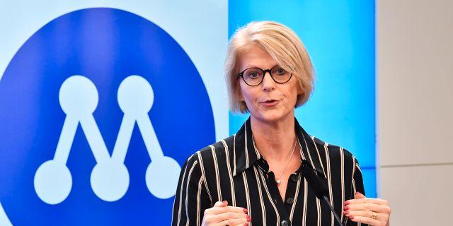 Elisabeth Svantesson Jonas Ekströmer/TT / TT NYHETSBYRÅN