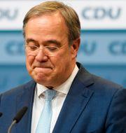 CDU-ledaren Armin Laschet. Markus Schreiber / TT NYHETSBYRÅN