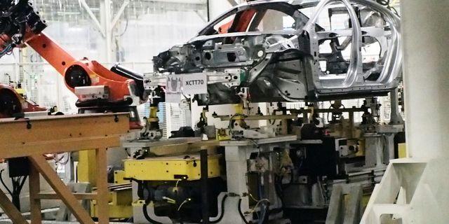 Volvo PV i bilfabriken i Chengdu, Kina. Foto: Amanda Billnér/TT/TT
