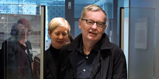Anders Olsson, tillförordnad ständig sekreterare för Svenska akademien Janerik Henriksson/TT / TT NYHETSBYRÅN