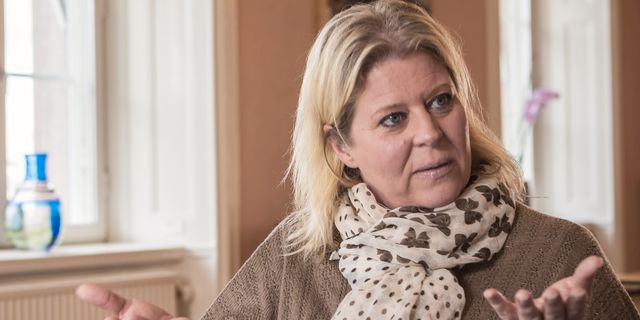 Camilla Waltersson Grönvall (M). Daniella backlund/SvD/TT / TT NYHETSBYRÅN