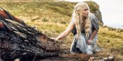 Daenerys Targaryen, som spelas av Emilia Clarke. HBO