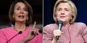 Pelosi och Clinton TT