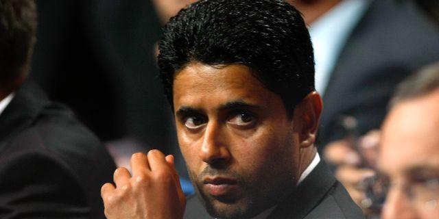 Nasser al Khelaifi. Claude Paris / TT / NTB Scanpix