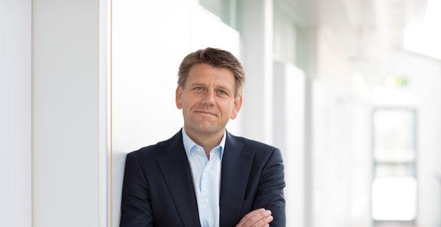 Oliver Steil, vd för TeamViewer, berättar om hur den digitala omställningen under pandemin resulterade i ett rekordår för företaget. HOLGER HILL