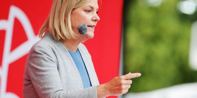 Magdalena Andersson (S), arkivbild. Adam Ihse /TT / TT NYHETSBYRÅN