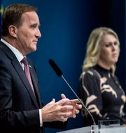 Stefan Löfven (S) och Lena Hallengren (S).  Christine Olsson / TT NYHETSBYRÅN