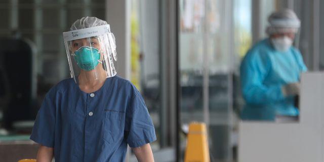 Sjukhus i Hongkong. Achmad Ibrahim / TT NYHETSBYRÅN