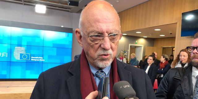 Arkivbild: EU-minister Hans Dahlgren.  Wiktor Nummelin/TT / TT NYHETSBYRÅN
