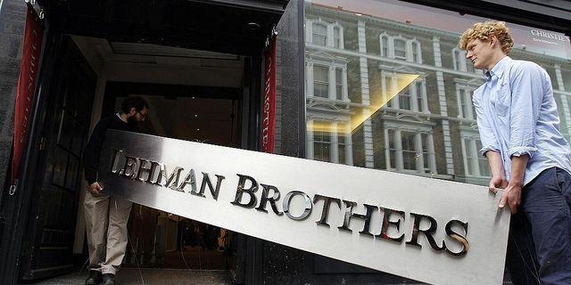 Lehman Brothers gick i konkurs under finanskrisen hösten 2008. TT