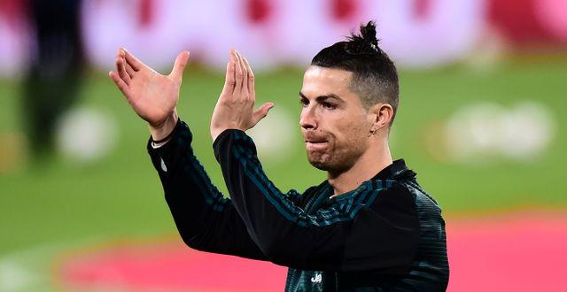 Cristiano Ronaldo.  MASSIMO PINCA / BILDBYRÅN