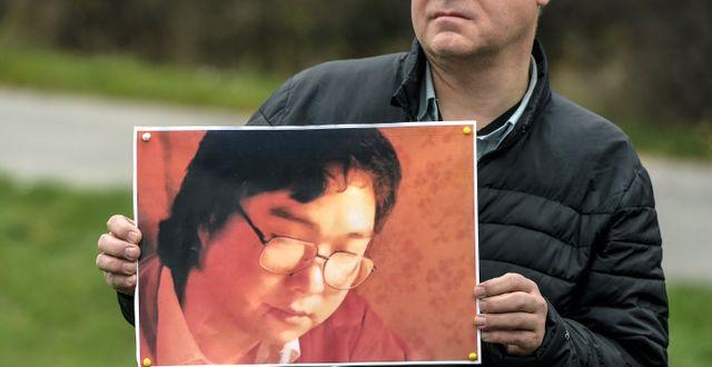 Gui Minhai, fängslad sedan 2015. Anders Wiklund/TT / TT NYHETSBYRÅN