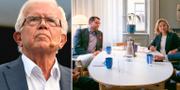 Alf Svensson t.v. Jimmie Åkesson och Ebba Busch Thor t.h. TT / Ebba Busch Thor på Facebook / Jimmie Åkesson på Twitter.