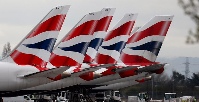 British Airways flygplan. Frank Augstein / TT NYHETSBYRÅN