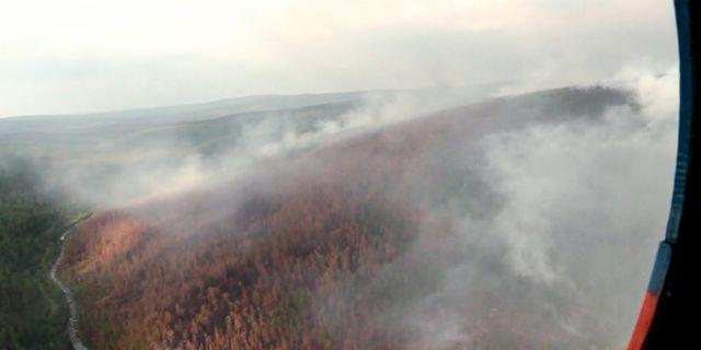 Jättebränderna har härjat i Sibirien i åtminstone tio dagar. TT NYHETSBYRÅN/ NTB Scanpix