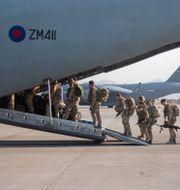 Brittiska trupper lämnar Kabul i helgen.  Jonathan Gifford / TT NYHETSBYRÅN