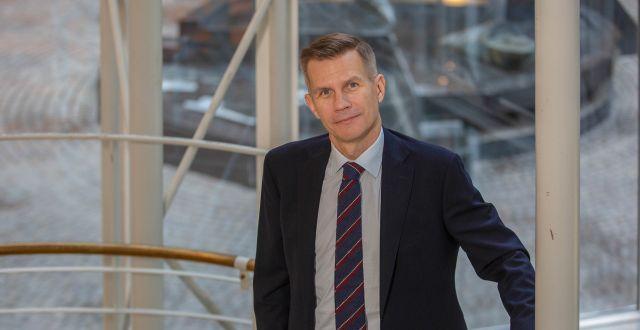 Nils Hast, förvaltare av ODIN Fastighet. ODIN Fastighet.