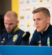 Marcus Danielson och Joakim Nilsson. Fredrik Sandberg/TT / TT NYHETSBYRÅN