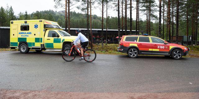 Olyckan skedde 1217.  Ulf Palm/TT / TT NYHETSBYRÅN