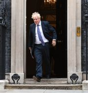 Premiärminister Boris Johnson på tisdagen. Stefan Rouseau / TT NYHETSBYRÅN