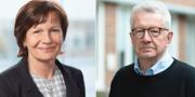 Tredje AP-fondens vd Kerstin Hessius och Johan Giesecke TT
