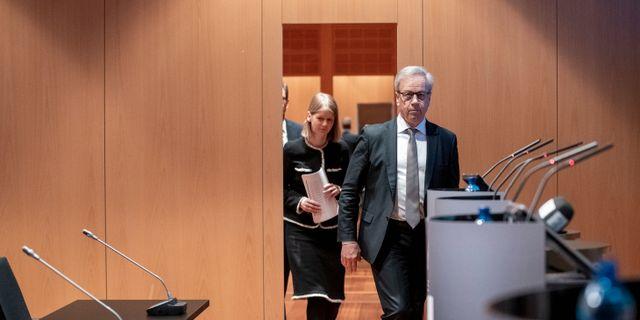 Norges centralbankschef Øystein Olsen Berit Roald / TT NYHETSBYRÅN