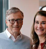 Bill och Melinda Gates. Elaine Thompson / TT NYHETSBYRÅN