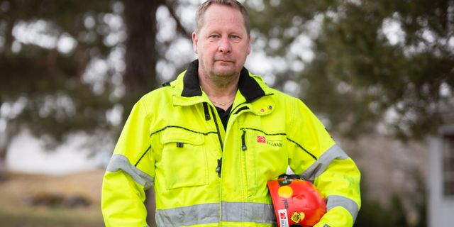 Tomas Kullberg. Pressbild. Byggnads