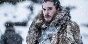 Kit Harington spelar Jon Snow i serien. Helen Sloan / TT NYHETSBYRÅN/ NTB Scanpix