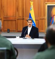 Nicolás Maduro JHONN ZERPA / TT NYHETSBYRÅN