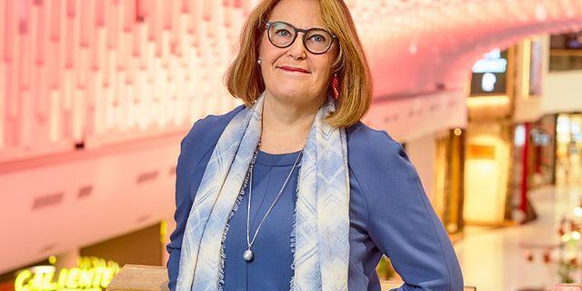 Karin Johansson, vd för Svensk Handel. Svensk Handel