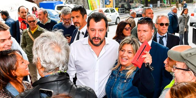 Salvini Simone Arveda / TT NYHETSBYRÅN