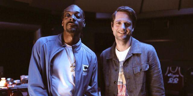 Snoop Dogg och vd:n Sebastian Siemiatkowski. Klarna