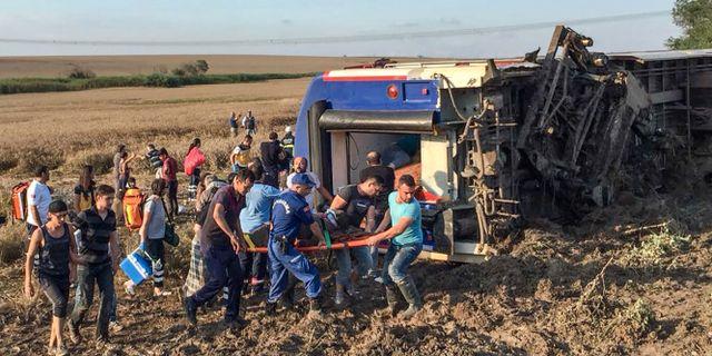 Tagolycka i belgien minst en dod