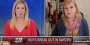 Ingrid Carlqvist i Fox Business-inslaget om Sverige.  Fox Business