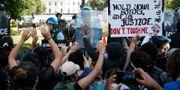 Protester vid Vita huset i Washington DC Alex Brandon / TT NYHETSBYRÅN